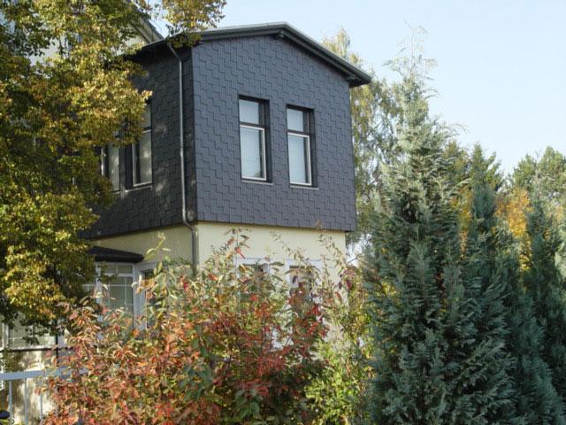 Henke Dachdecker - Fassadenverkleidung mit Naturschiefer