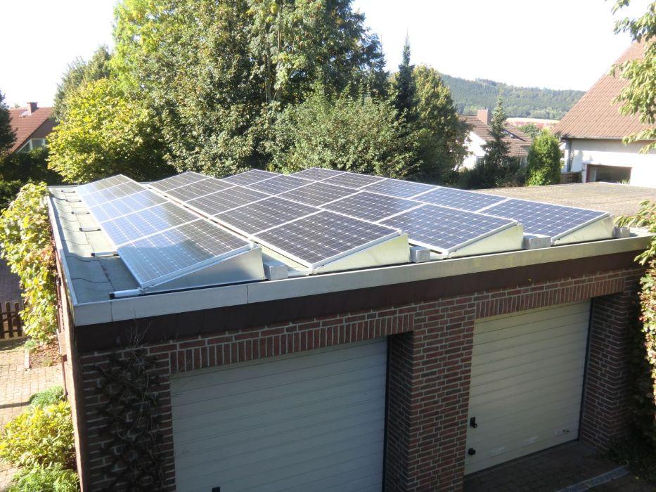 Henke Solartechnik in Obernkirchen - Photovoltaik – Anlage 5,40 kWp in Klein Berkel bei Hameln (Landkreis Hameln-Pyrmont)
