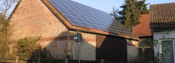Henke Solartechnik - Photovoltaik – Anlage 20,40 kWp in Emmerthal bei Hameln (Landkreis Hameln-Pyrmont)