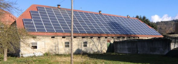 Henke Solartechnik - Photovoltaik – Anlage 49,59 kWp in Emmerthal bei Hameln (Landkreis Hameln-Pyrmont)
