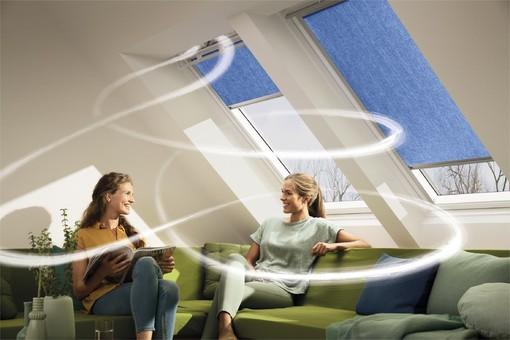Henke Dachdecker für Hameln - Mit Velux Dachfenstern automatisch richtig Lüften