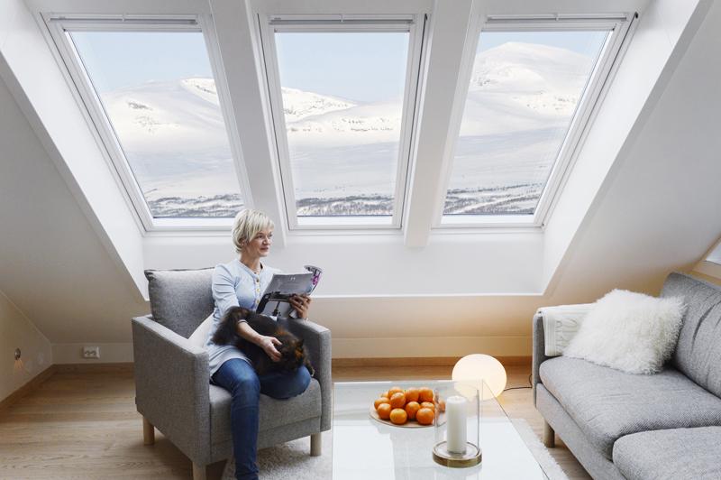 Henke Dachdecker für Stadthagen - VELUX - Dachfenster schaffen lichtdurchfluteten Wohnraum