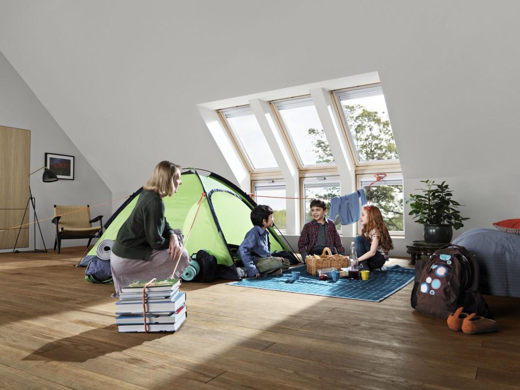 Henke Dachdecker für Stadthagen - Kindersichere Dachfenster vom Boden bis fast zur Decke