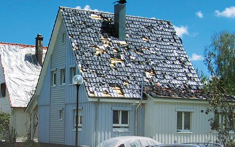 Henke Dachdecker für Bückeburg - Hagelschlagsichere Daemmsystem BauderPIR