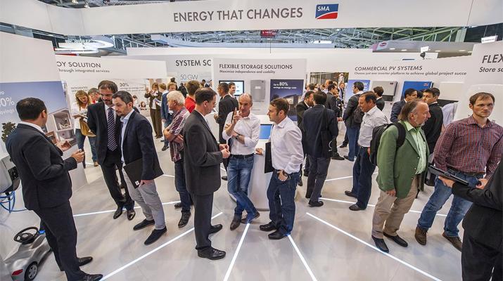 Henke Solartechnik für Bückeburg - SMA präsentiert neue Energy Solutions auf der Intersolar 2017