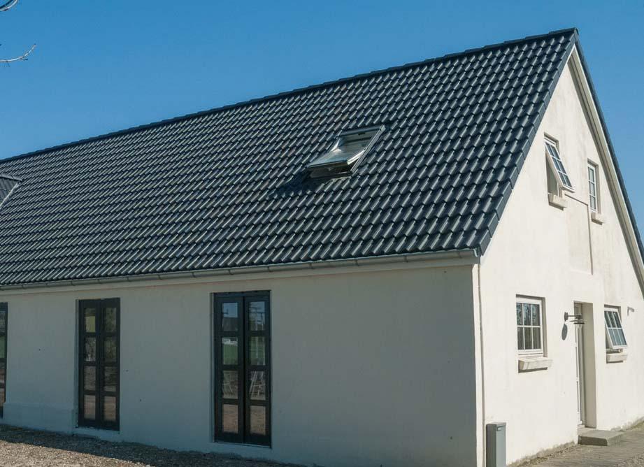 Henke Dacheindeckung für Bueckeburg - Leichtgewicht: Braas Doppel-S Aerlox