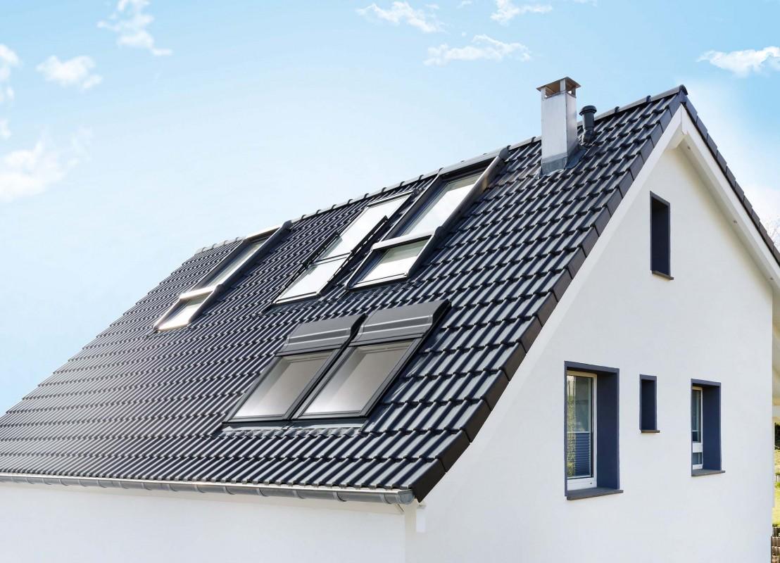 Henke Dachfenster für Bad Nenndorf - VELUX Fensterlüfter Smart Ventilation für Fensterkombinationen