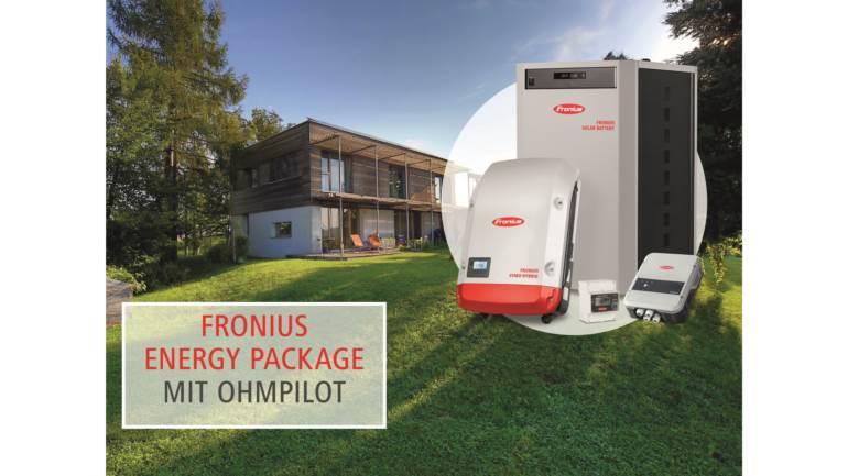 Henke Solartechnik für Stadthagen - Fronius Energy Package mit Fronius Ohmpilot