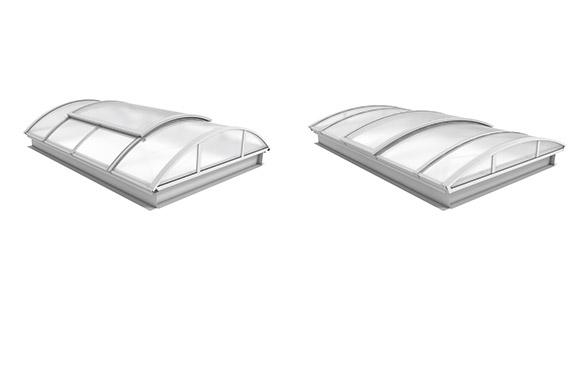 Henke Dachdecker für Minden - Optimierte Lichtbänder basic und plus