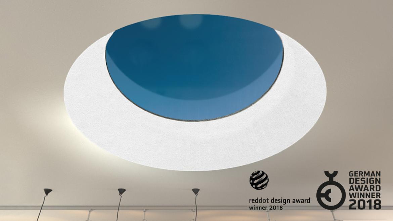 Henke Dachdecker für Bad Nenndorf - LAMILUX RedDot Design Award Glaselement F100 Rund
