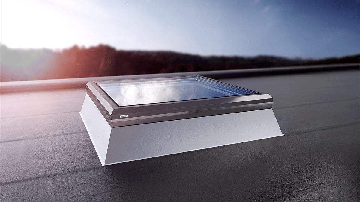 Henke Dachdecker für Minden - LAMILUX Flachdach-Fenster FE