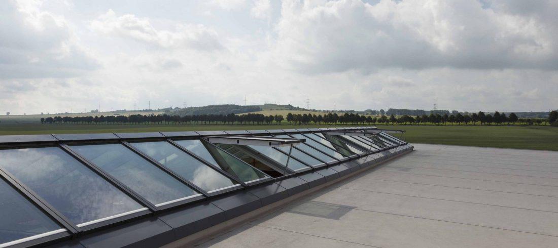 Henke Dachdecker für Hannover - VELUX Modular Skylight