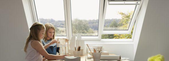 Henke Dachfenster für Bad Eilsen - VELUX Studiofenster