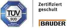 Heinrich Henke GmbH - Dachdeckerei | Zimmerei | Solartechnik - BAUDER - Verarbeiterschulung zertifiziert vom TÜV-SÜD