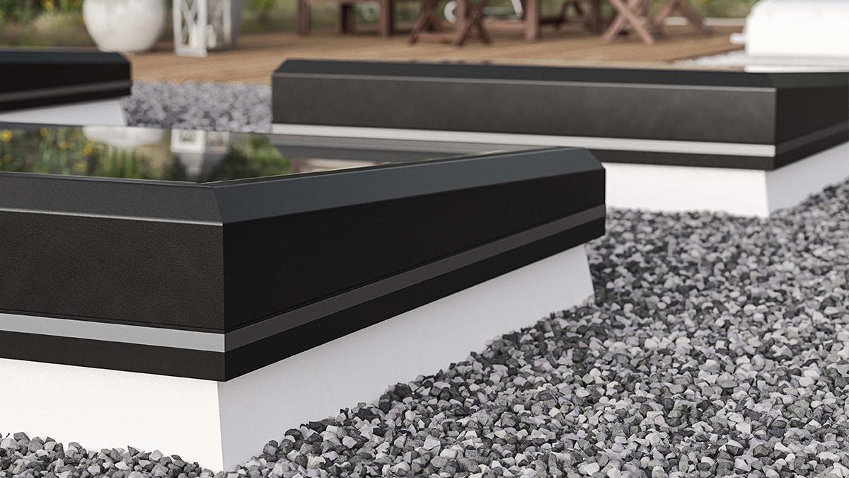 Henke Dachdeckerei | Zimmerei | Solartechnik für Rinteln - LAMILUX - Flachdach Fenster FE jetzt mit 3°-Neigung