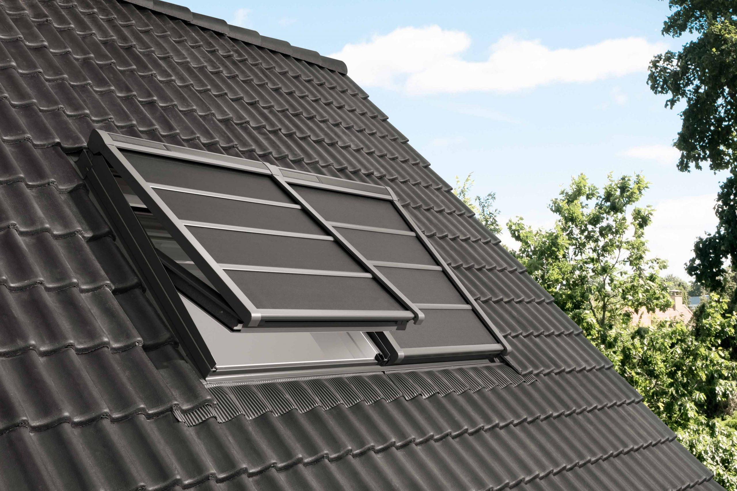 Henke Dachdeckerei | Zimmerei | Solartechnik für Bückeburg - VELUX Hitzeschutz-Markise