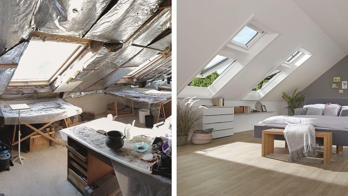 Henke Dachdecker | Zimmerei | Solartechnik für Stadthagen - Renovierung mit Roto – Das passende Dachfenster für jeden Fall