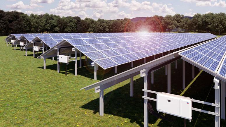 Henke Solartechnik für Schaumburg - Sunny Tripower CORE2: Flexibles Design für gewerbliche PV-Aufdach- und Freiflächenanlagen