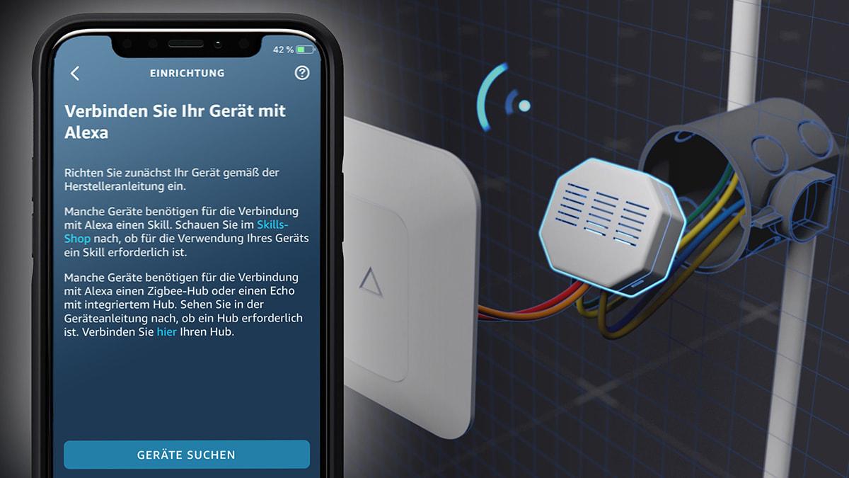 LAMILUX Smart Control Einrichtung