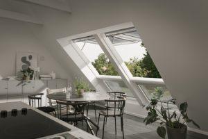 Henke Dachdecker für Rinteln - VELUX Dachfenster für die Küche