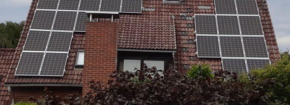 Henke Solartechnik für Schaumburg - Photovoltaik - Anlage 7,04 kWp in Helpsen (Landkreis Schaumburg-Lippe)